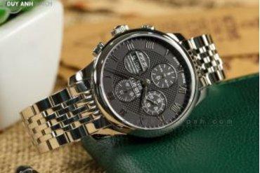 [Review - Đánh Giá] Tissot Le Locle Powermatic 80 Chronograph T006.414.11.053.00 – Người khổng lồ lịch lãm